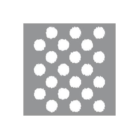 Szablon 30.5x30.5, Americana Decor Stencil, Ikat Polka Dot [ADS17]