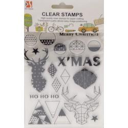 Stemple akrylowe, Christmas...