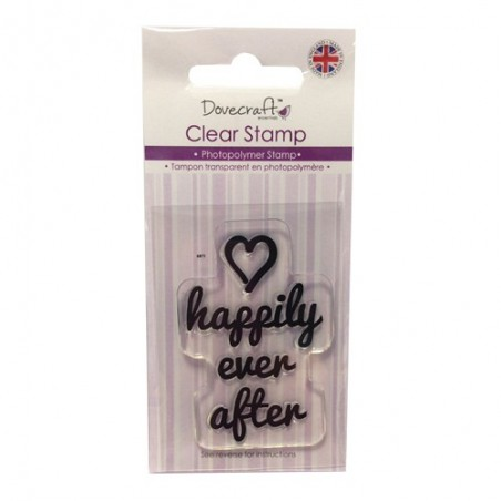 Stempel akrylowy, Happily ever after [DCCS016]