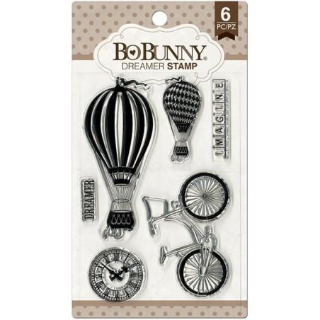 Stemple akrylowe BoBunny, Essentials Stamps, Dreamer