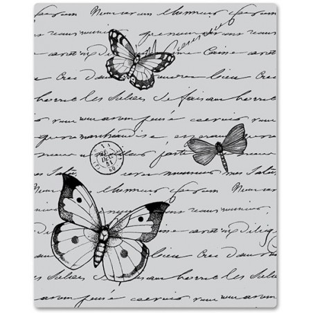 Stempel gumowy, Hero Arts Cling Stamps, Antique Background