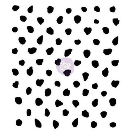 Stempel akrylowy, Finnabair Clear Stamp, Offset Dots [960919]