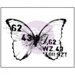 Stempel do scrapbookingu, Finnabair Wood Mounted Stamp, Butterfly 3 962104 motyl