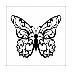 Stempel do scrapbookingu Stamperia WTKCC11, Motyl
