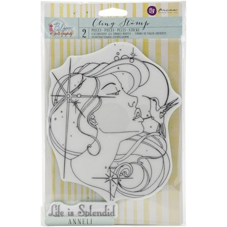 Stempel gumowy, Bloom Cling Rubber Stamp, Anneli [980276]