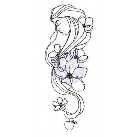 Stempel gumowy, Jamie Dougherty Creating In Faith Cling Stamp, Eve [980672]