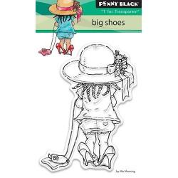 Stempel akrylowy do scrapbookingu Penny Black, Big Shoes