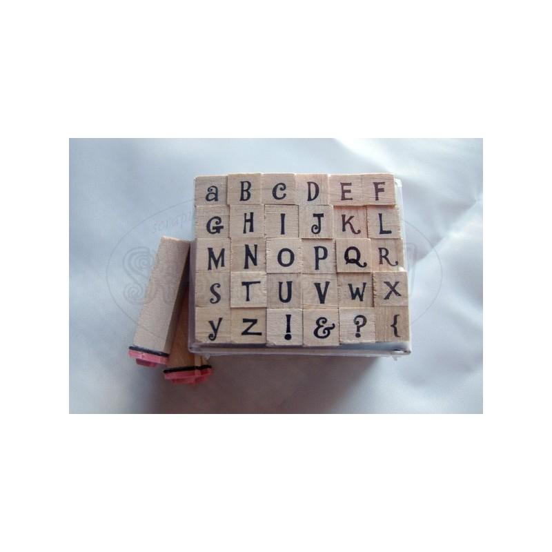 Stemple z alfabetem Dovecraft, wzór 12