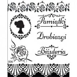 Szablon 20x25, Drobiazgi...