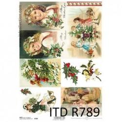 Papier ryżowy A4 ITD R789,...