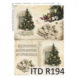 Papier ryżowy A4 ITD R194,...