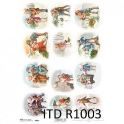 Papier ryżowy A4 ITD R1003,...