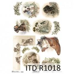 Papier ryżowy A4 ITD R1018,...
