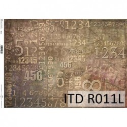 Papier ryżowy A3 ITD R011L,...