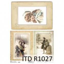 Papier ryżowy A4 ITD R1027,...