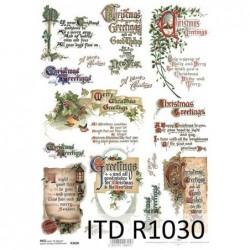 Papier ryżowy A4 ITD R1030,...