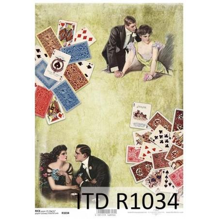 Papier ryżowy A4 ITD R1034, W kasynie