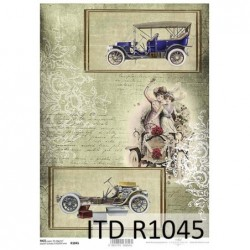 Papier ryżowy A4 ITD R1045,...
