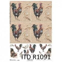 Papier ryżowy A4 ITD R1091,...
