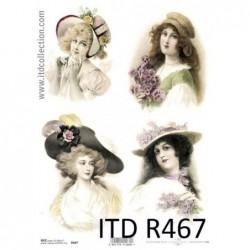 Papier ryżowy A4 ITD R467,...