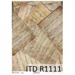 Papier ryżowy A4 ITD R1111,...