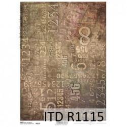 Papier ryżowy A4 ITD R1115,...