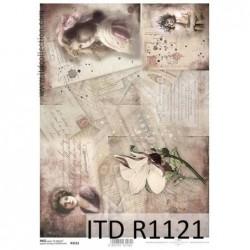 Papier ryżowy A4 ITD R1121,...
