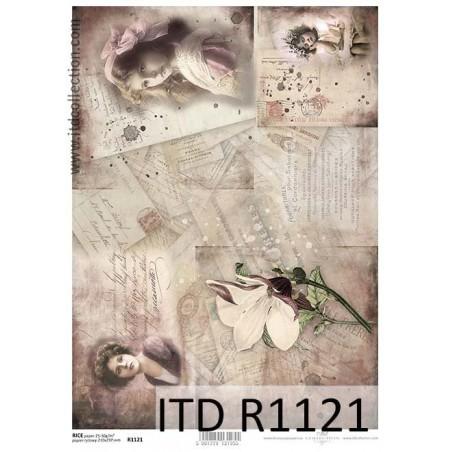 Papier ryżowy A4 ITD R1121, Listy