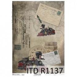 Papier ryżowy A4 ITD R1137,...