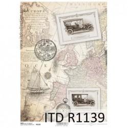 Papier ryżowy A4 ITD R1139,...