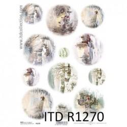 Papier ryżowy A4 ITD R1270,...