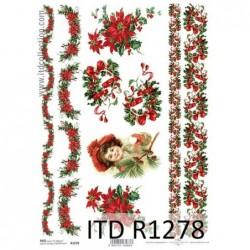 Papier ryżowy A4 ITD R1278,...