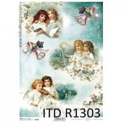 Papier ryżowy A4 ITD R1303,...