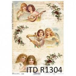 Papier ryżowy A4 ITD R1304,...