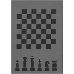 Szablon Daily ART Chess Small szachy - do decoupage i scrapbookingu