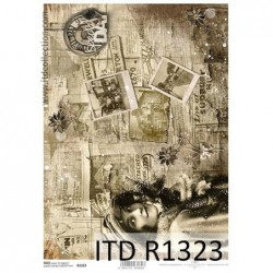 Papier ryżowy A4 ITD R1323