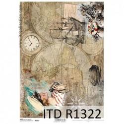 Papier ryżowy A4 ITD R1322
