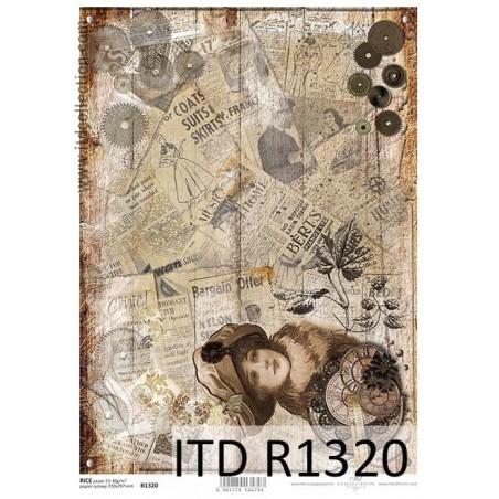 Papier ryżowy A4 ITD R1320