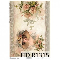 Papier ryżowy A4 ITD R1315,...