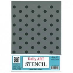 Szablon do decoupage A5, Kropeczki - Daily Art
