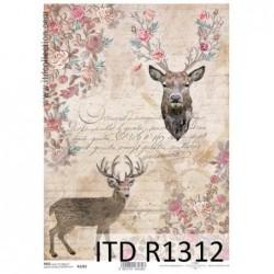 Papier ryżowy A4 ITD R1312,...