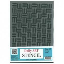 Szablon do decoupage A5, Knitting Small - Daily Art