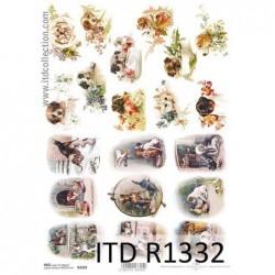 Papier ryżowy A4 ITD R1332,...