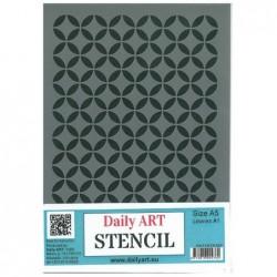 Szablon Daily ART Leaves 1 - do decoupage i scrapbookingu