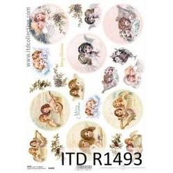 Papier ryżowy A4 ITD R1493...