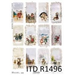 Papier ryżowy A4 ITD R1496...