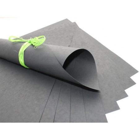 Papier czerpany A4, czarny 150 gsm, 1 ark. [P_519]