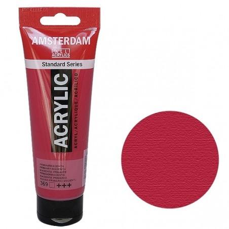 Farba akrylowa Amsterdam Standard, 369 Primary Magenta, tuba 120 ml