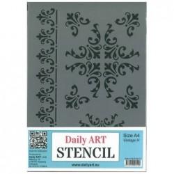 Szablon Daily ART A4 Vintage H - do decoupage i scrapbookingu