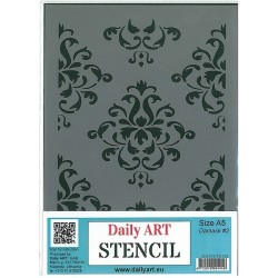 Szablon Daily ART Damask 2 - do decoupage i scrapbookingu
